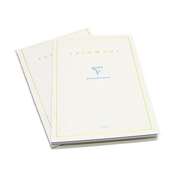 """Clairefontaine """"Triomphe"""" Stationery Tablet, Lined, A4 (8.25"""" x 11.75"""")"""