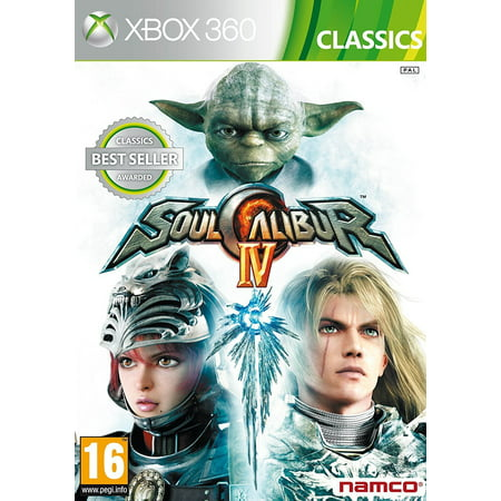 Soul Calibur IV (X360 Xbox 360) Engrave your Name in History! New Factory