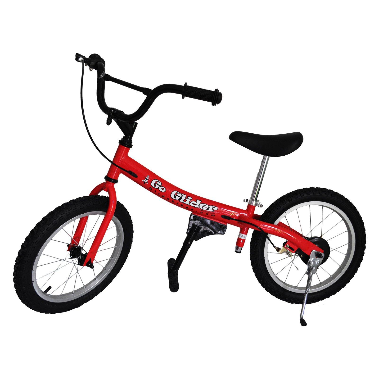 Glide Bikes Inc Glide Bikes 16 In. Go Glider Balance Bike  -  Red