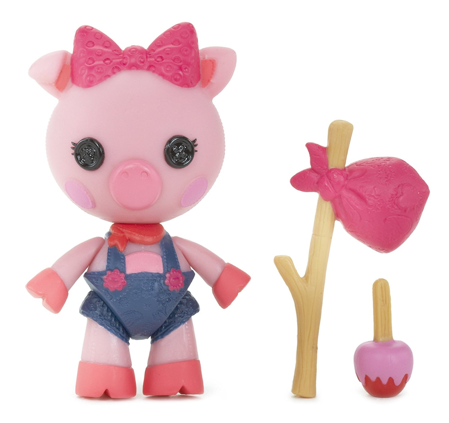 Mini Pet Pals Doll- Belly Curly Tail, Mini Lalaloopsy Pet Pals doll Belly Curly Tail magically came to life when her last stitch was sewn By Lalaloopsy