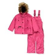 Canada Weather Gear Girls' 2-Piece Snowsuit (Toddler)