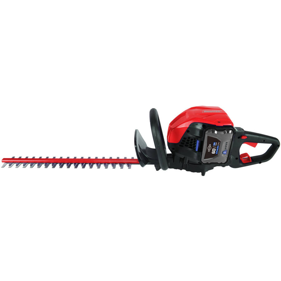Snapper 60V Hedge Trimmer, 2Ah Battery and Charger Included SH60V