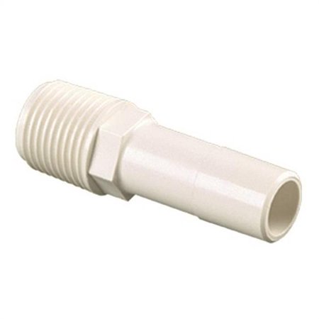 Watts 35 Series 3527 1008 Stem Connector 1 2 in CTS 1 2 in MPT Off Whi
