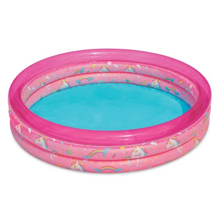 how to inflate play day 3 ring pool