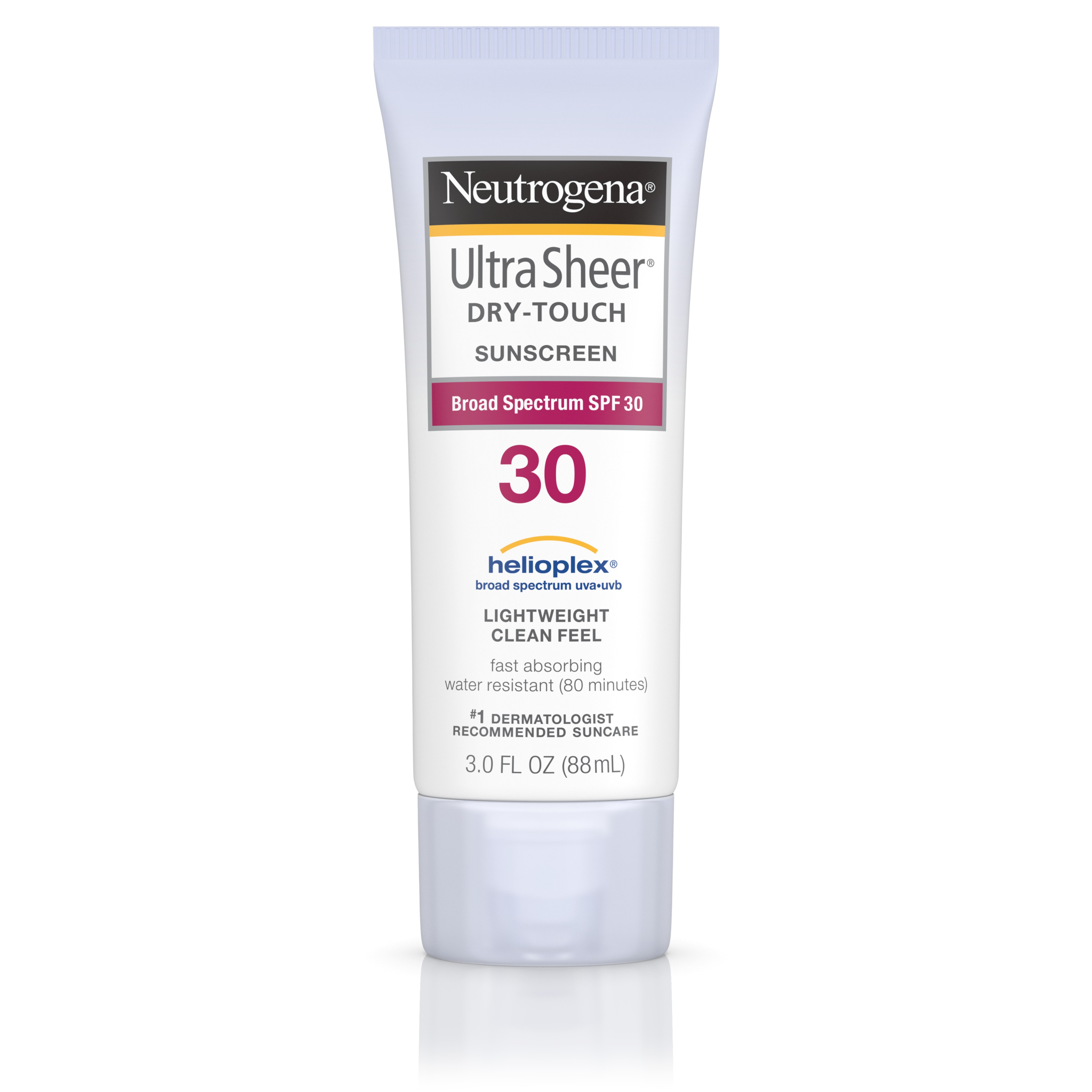 Neutrogena Ultra Sheer Dry-Touch Sunscreen, Broad Spectrum Spf 30, 3 Fl. Oz.