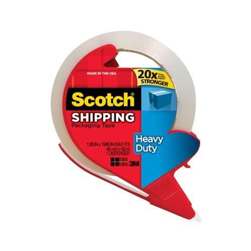 Scotch Premium Performance Packaging Tape MMM3850RD