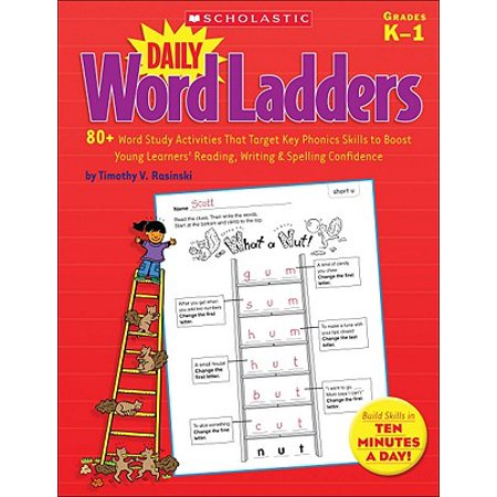 Daily Word Ladders, Grades K-1 : 80+ Word Study Activities That Target Key Phonics Skills to Boost Young Learners' Reading, Writing & Spelling Confidence](Halloween Words For Story Writing)