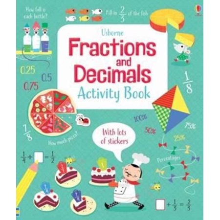 - FRACTIONS & DECIMALS ACTIVITY BOOK