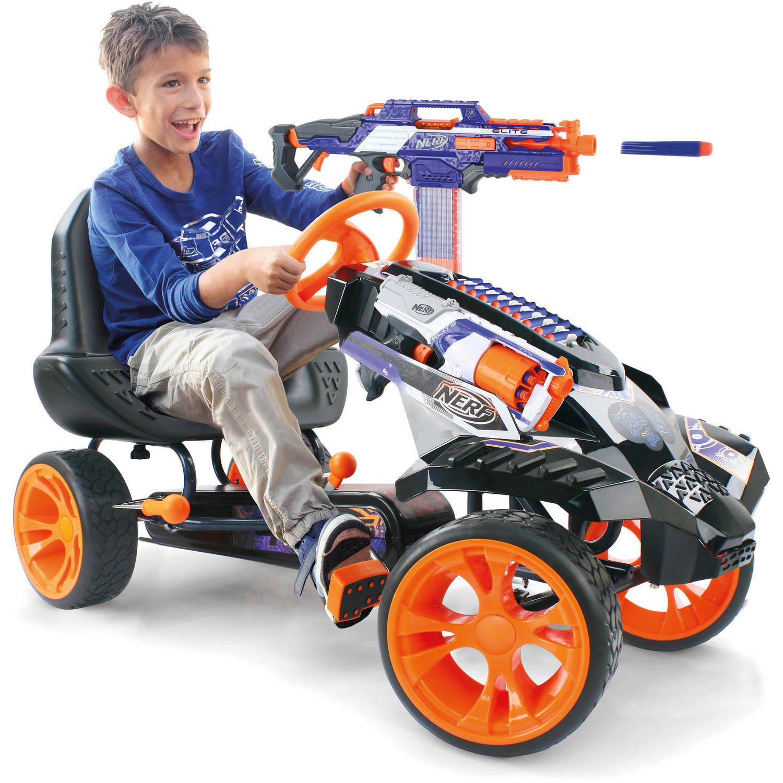 Nerf Battle Racer Pedal Ride Walmart