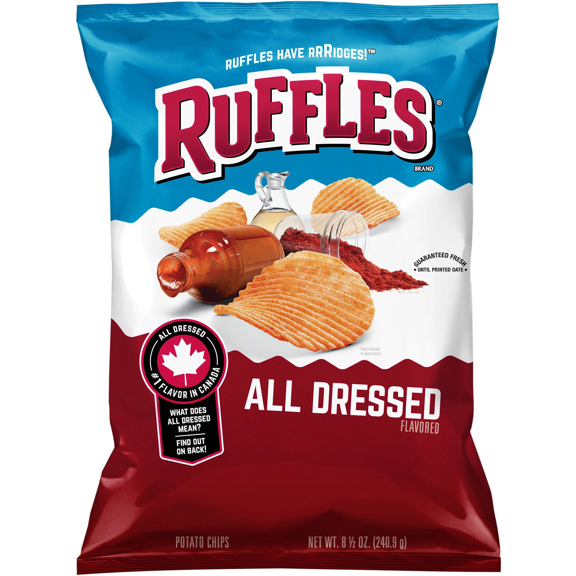 Ruffles All Dressed Potato Chips, 8.5 oz