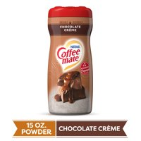 COFFEE MATE Chocolate Crème Powder Coffee Creamer 15 Oz. Canister | Non-dairy, Lactose Free Creamer (3 Pack)