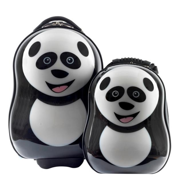 The Cuties and Pals PDA1000 Cheri the Panda Luggage Set