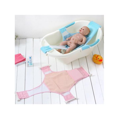 Baby Bathtub Stand - Meigar Baby Kids Bath Seat Safety Support Shower Adjustable Bathtub Bathing Shower Net