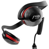 Frisby FHP-300 Neckband Headphone w/ Mic for PC Computer Smartphone Tablet