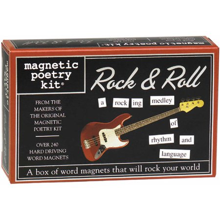 Magnetic Poetry Kit (Magnetic Poetry Kit, Rock and Roll)