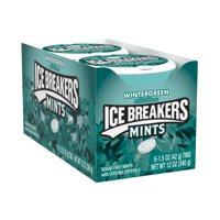 Ice Breakers Mints, Wintergreen, Sugar Free 1.5 Oz, 8 Count