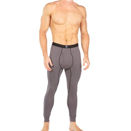 Men's Thermal Underwear Long John Pants - Luxury Base Layer Thermals for