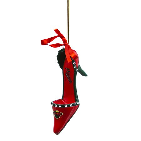 Minnesota Wild High Heel Shoe Christmas Ornament