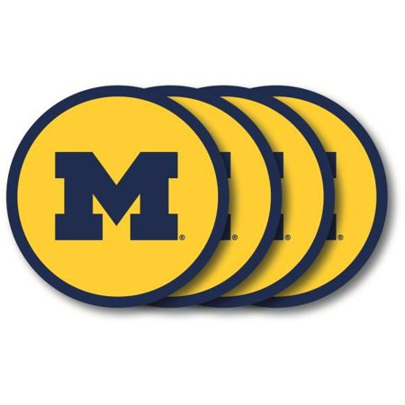 Michigan Wolverines Coaster Set - 4 Pack 4 Pack Ceramic Coasters