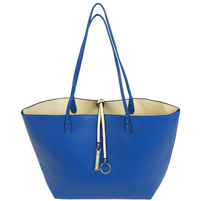 Cathrine Lillywhite GC1542BL Blue Reversible Tote, 2 Piece - 12 x 17 inch