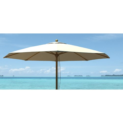 Royal Teak by Lanza Products .75' Market Umbrella by