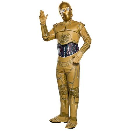 Star Wars Classic C-3Po Adult Halloween Costume - C3po Womens Costume