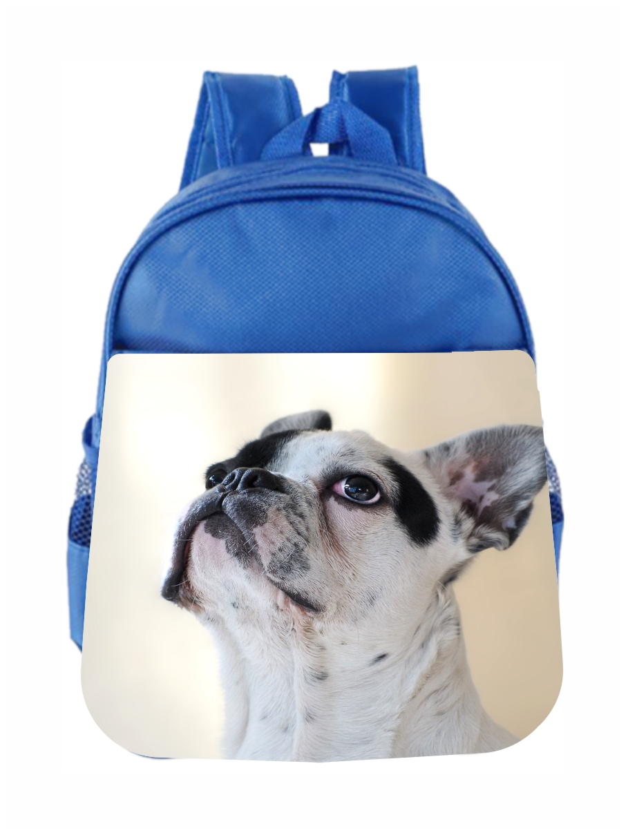 Backpack Bag Sketch Charming French Bulldog Drawing Cute Backpack For Women Waterproof Casual Daypacks For Young Girls