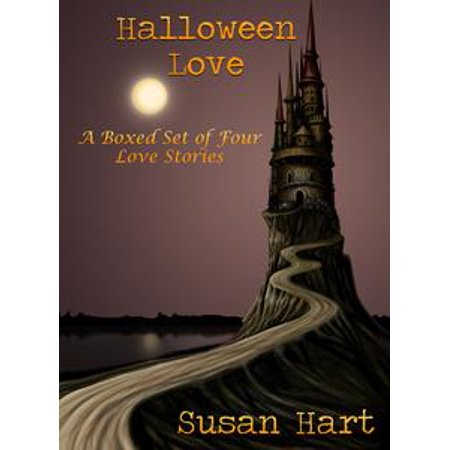 Halloween Love: A Boxed Set of Four Love Stories - - Vintage Halloween Book Boxes