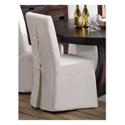 Dining Chair Slipcover in White