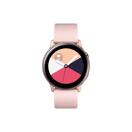 SAMSUNG Galaxy Watch Active - Bluetooth Smart Watch (40mm) Rose Gold - SM-R500NZDAXAR (Samsung Watch)