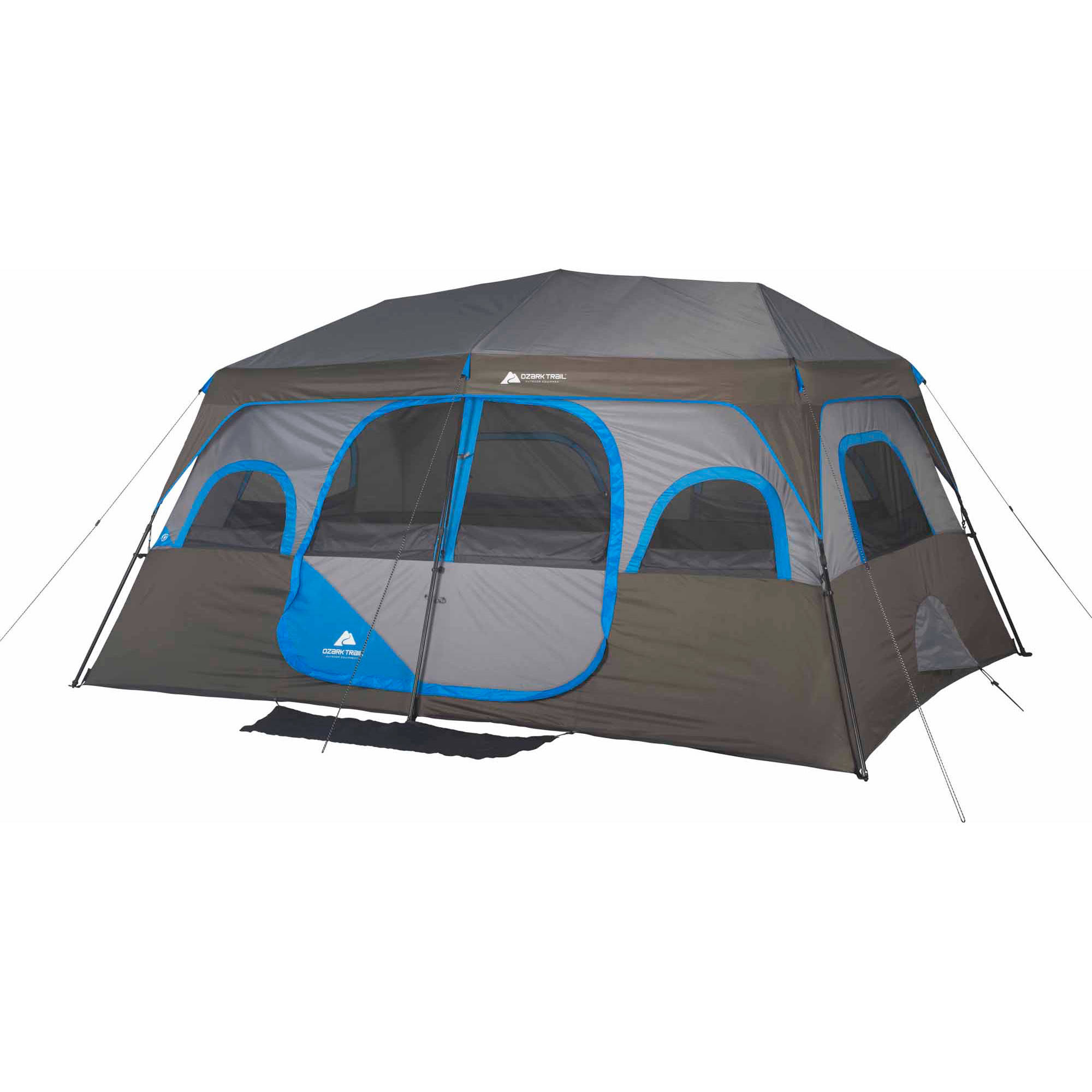 Exceptionnel Ozark Trail 10 Person 2 Room Instant Cabin Tent   Walmart.com