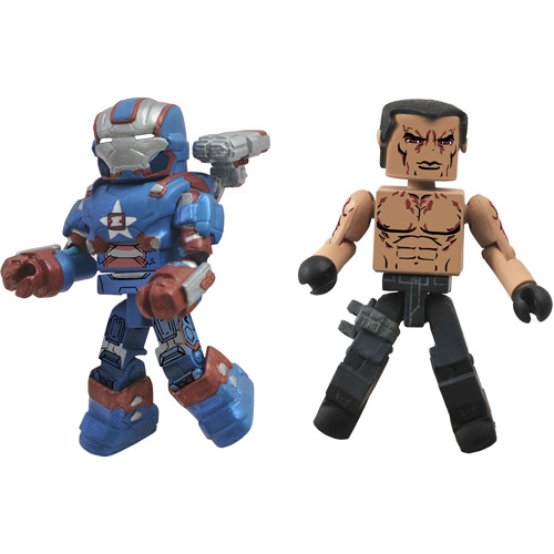 Marvel Minimates Series 49 Iron Patriot & Extremis Soldier Minifigure 2-Pack