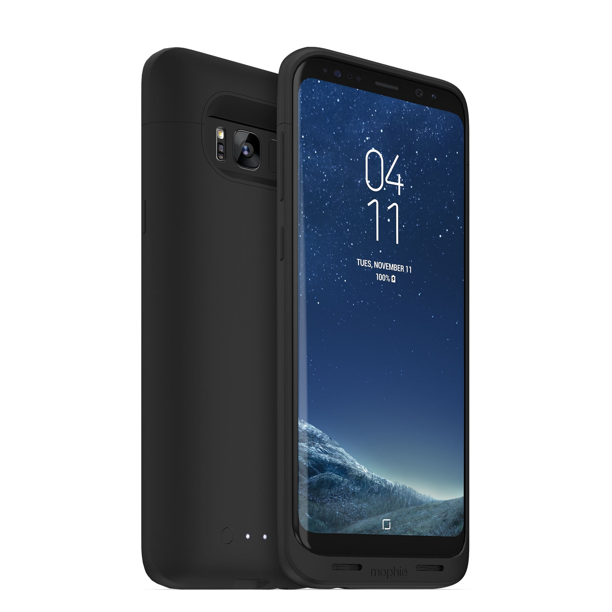 detailed look 46139 40015 Mophie Juice Pack Battery Case for Samsung Galaxy S8 Plus 3,300mAh, Black