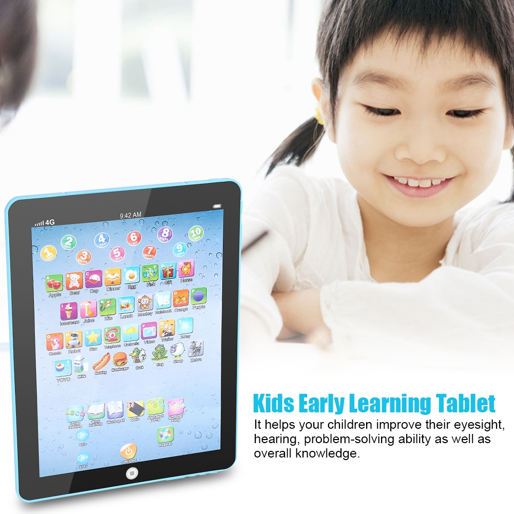 Kids Baby Early Learning Tablet Toy Educational Electronic Device for Toddlers