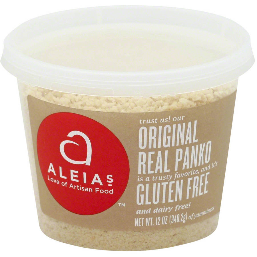 Aleias Gluten Free Real Organic Panko, 12 oz, (Pack of 12)