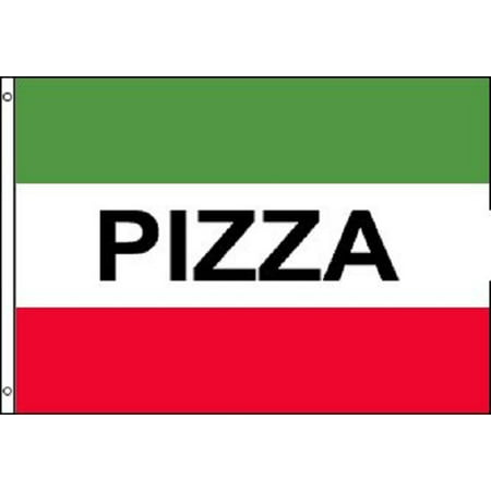 PIZZA Green and Red Flag Pizzeria Italian Restaurant Banner Pennant 3x5 Sign New](Italian Flag Banner)