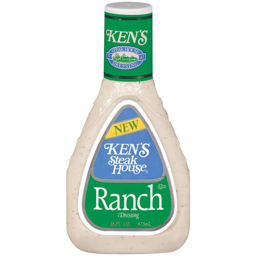 Ken's Steak House: Ranch Dressing, 16 oz