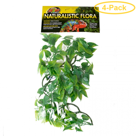 Zoo Med Natural Bush - Mexican Phyllo Aquarium Plant Small (14 Tall) - Pack of 4
