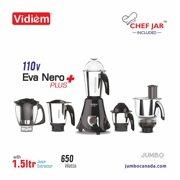 Eva- Nero Plus 650V (3 Jars) With Chef Jar& Juicer