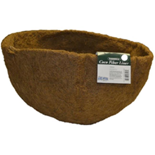 Bosmere Round Replacement Coco Liner With Soil Moist Mat