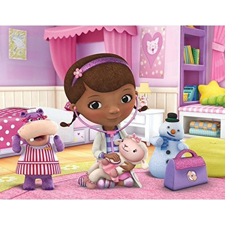 Doc McStuffins Edible Image Photo Cake Topper Sheet Birthday Party - 1/4 Sheet - - Dr Mcstuffin Cake