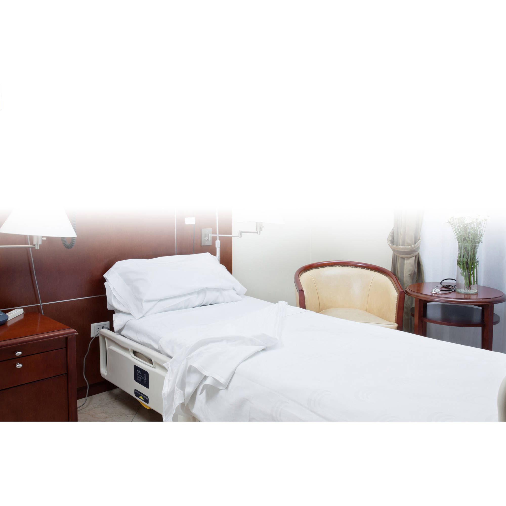 Fitted Bed Sheet for Hospitals in Jersey Knit