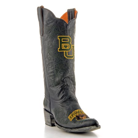 Gameday Boots Womens College Team Baylor Bears Black Gold BAY-L034-1 (College Gameday Halloween)