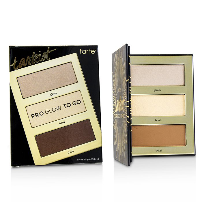 Tarteist Pro Glow To Go Highlight & Contour Palette-3x2.3g/0.08oz