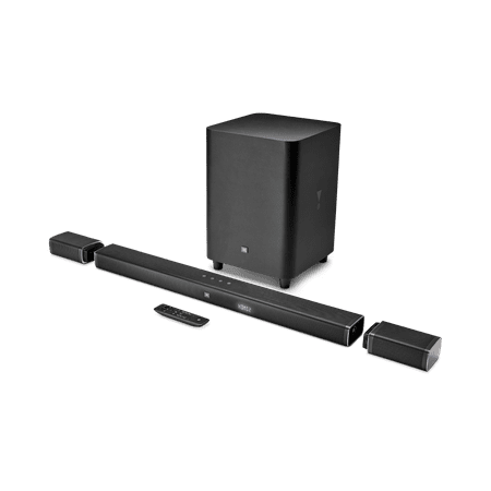 JBL JBLBAR51BLKAM Bar 5.1 5.1-Channel 4K Ultra HD Soundbar System