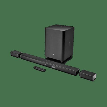 JBL JBLBAR51BLKAM Bar 5.1 5.1-Channel 4K Ultra HD Soundbar System
