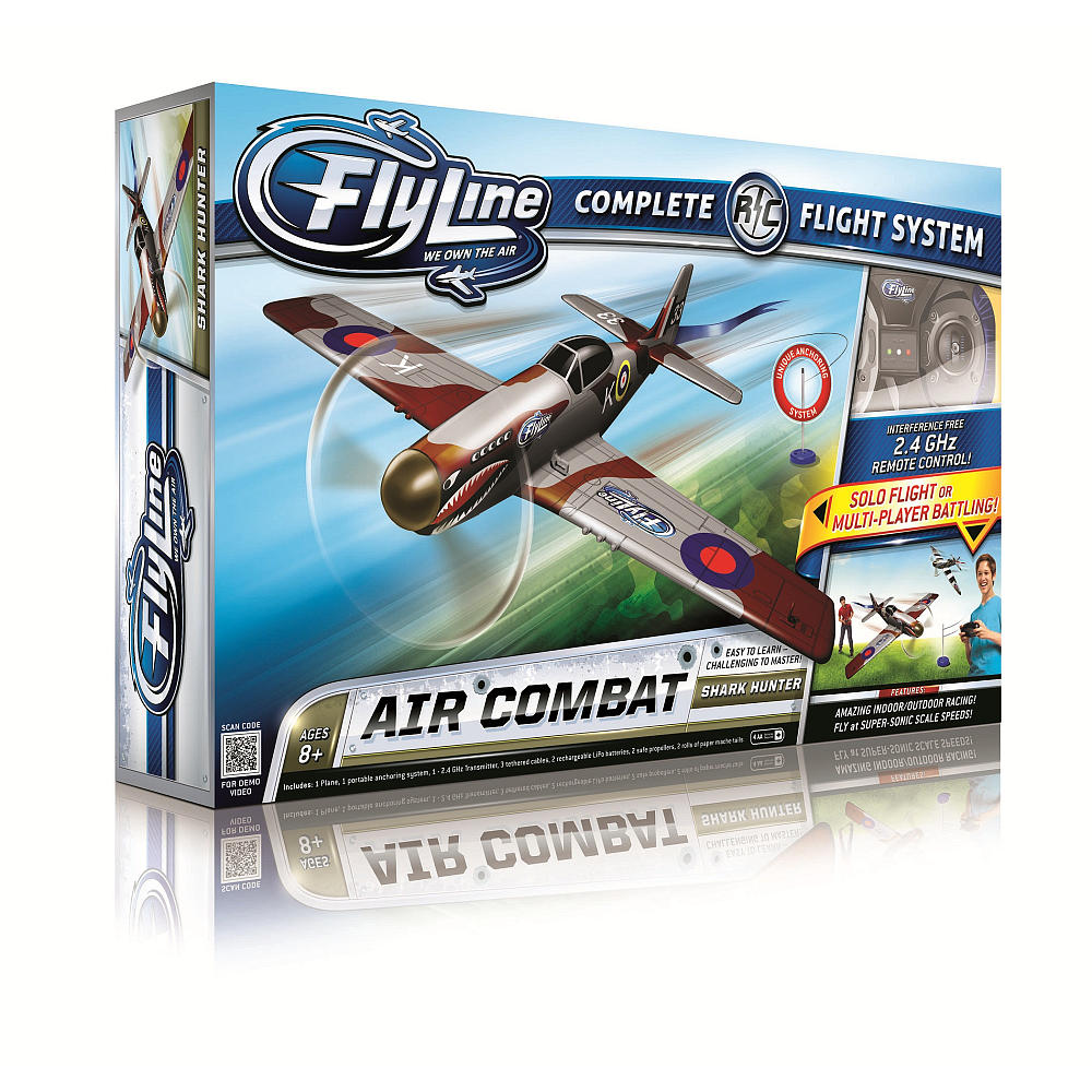 Flyline R/C Air Combat Complete Flight System (Shark Hunter)