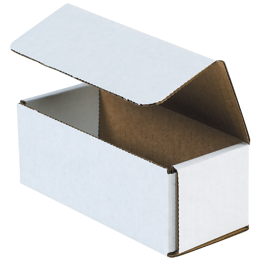 Box Partners Corrugated Mailers,14x4x4,White,50/BDL - BXP M1444