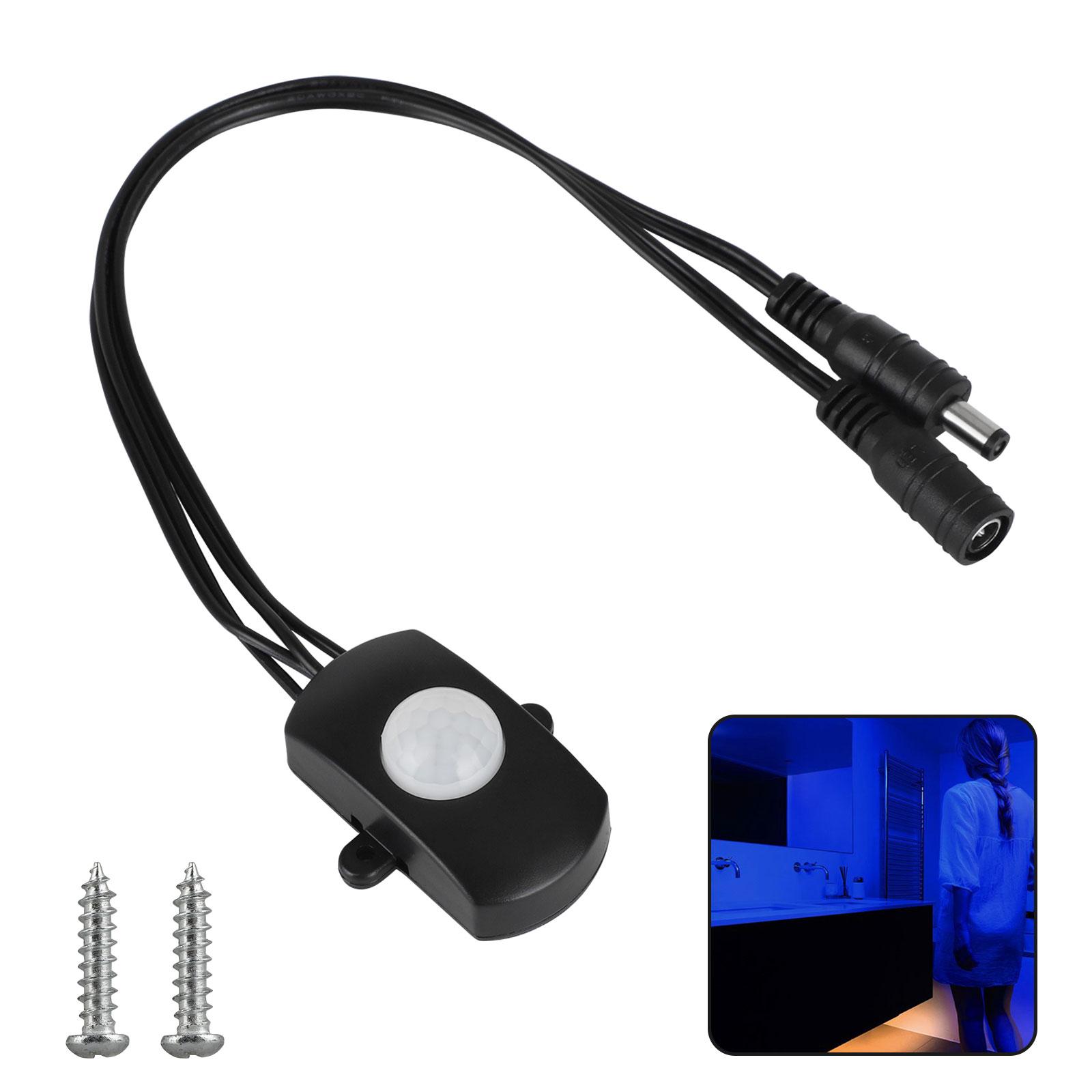 Eeekit Dc 12v To 24v Mini Pir Motion Sensor Switch