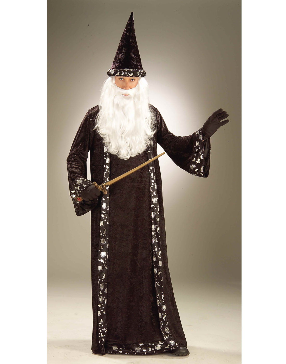 Wizard Hat and Robe Adult Halloween Accessory - Walmart.com
